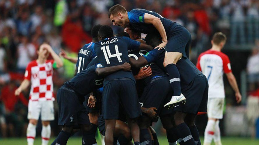 Зборная Францыі выйграла Чэмпіянат свету па футболе