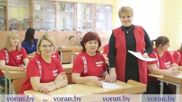 Вынікі 13-й Агульнанацыянальнай дыктоўкі на Гарадзеншчыне