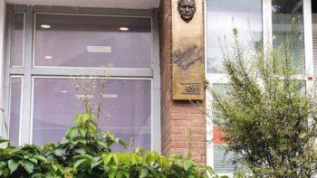 У Менску ўсталявалі мемарыяльную дошку ў гонар Васіля Быкава