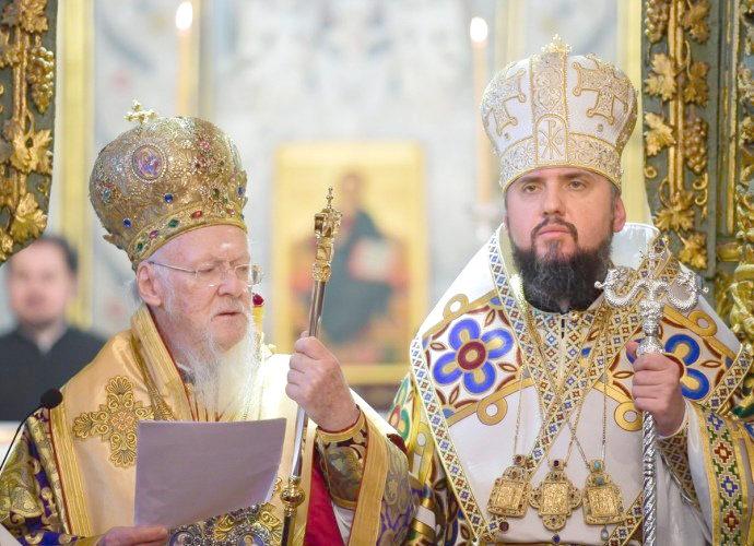 Праваслаўная царква Украіны атрымала незалежнасць