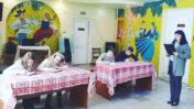 Агульнанацыянальныя дыктоўкі ў Лідскім раённым цэнтры культуры і народнай творчасці