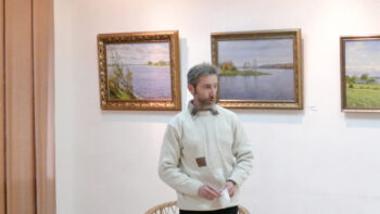 Выстава сябра ТБМ, мастака Вітаўта Жукава ў Полацку