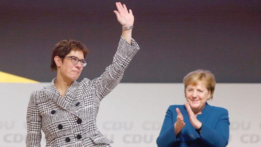 Навіны Германіі.  Пераемніцай Меркель стала прыхільніца жорсткай антыпуцінскай лініі