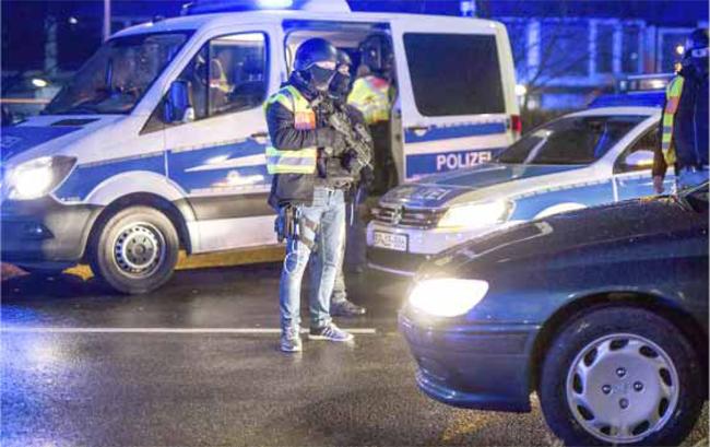 Навіны Германіі. У Германіі затрымалі групу нелегалаў з Ірака