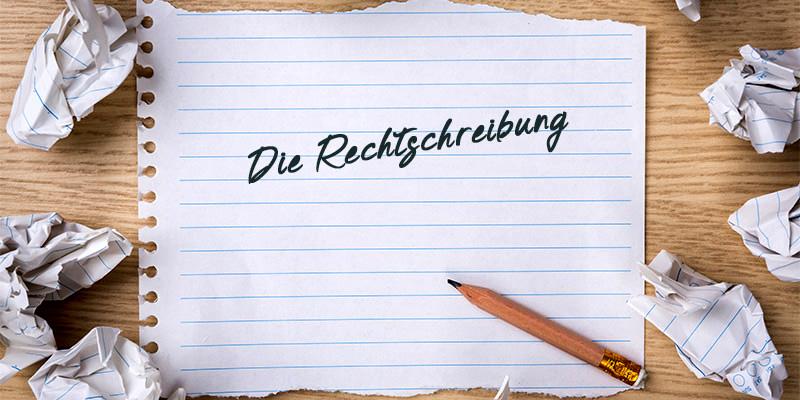 Нямецкі правапіс (die Rechtschreibung)