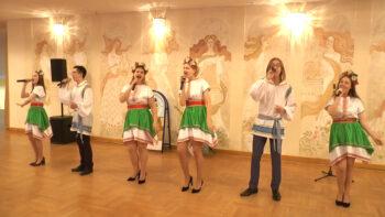 Канцэрт да Дня роднай мовы ў Лідскім палацы культуры 19 лютага