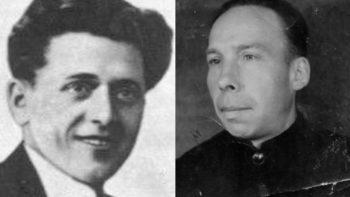 Два вершы на сценах турмы НКВД