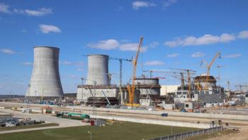 Пуск ядзернай устаноўкі першага энергаблока БелАЭС запланаваны на сакавік 2019 года