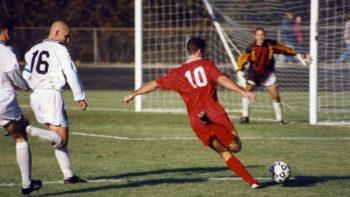 У плэй-оф футбольнай Лігі нацый Беларусь сустрэнецца з Грузіяй