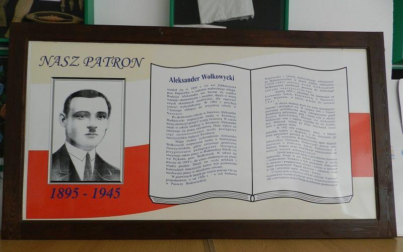 Партрэт Аляксандра Ваўкавыцкага вярнуўся ў пачатковую школу ў Нараўцы