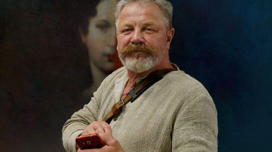 Мастаку Алесю Ксяндзову – 65 год  Ч
