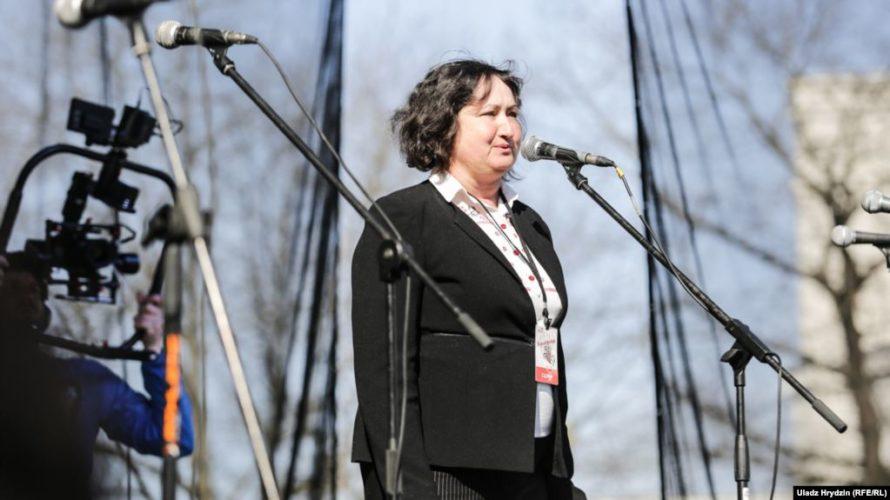 Алена Анісім: Буду вылучацца на прэзыдэнта як кандыдат ад патрыятычных сілаў