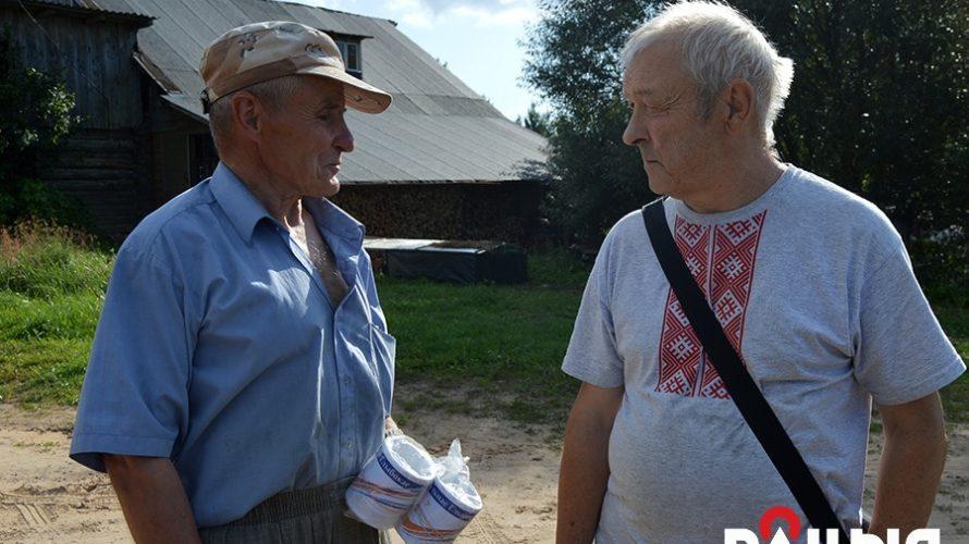 Глыбоцкія журналісты прыбраліся на былой польскай стражніцы