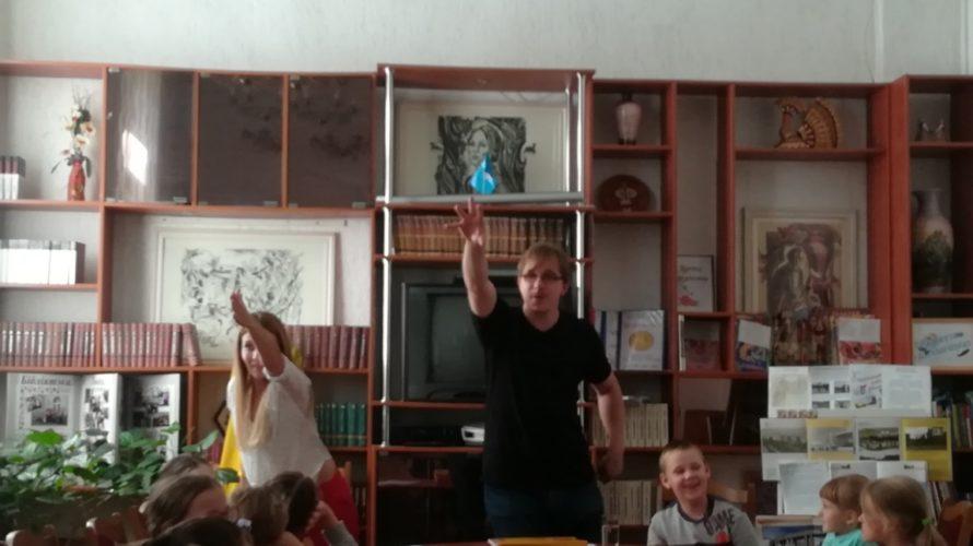 А вы ведаеце, хто такія суслікі? І чаму настаўніца са звычайнай школы мусіла ляцець у Егіпет?
