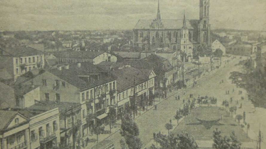 Беласток на фотаздымках пачатку 1940-х гадоў